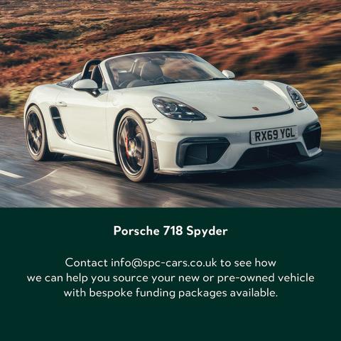 Porsche-718-Spyder